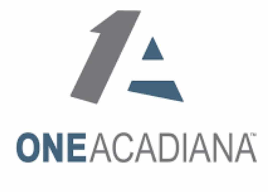 The One Acadiana logo